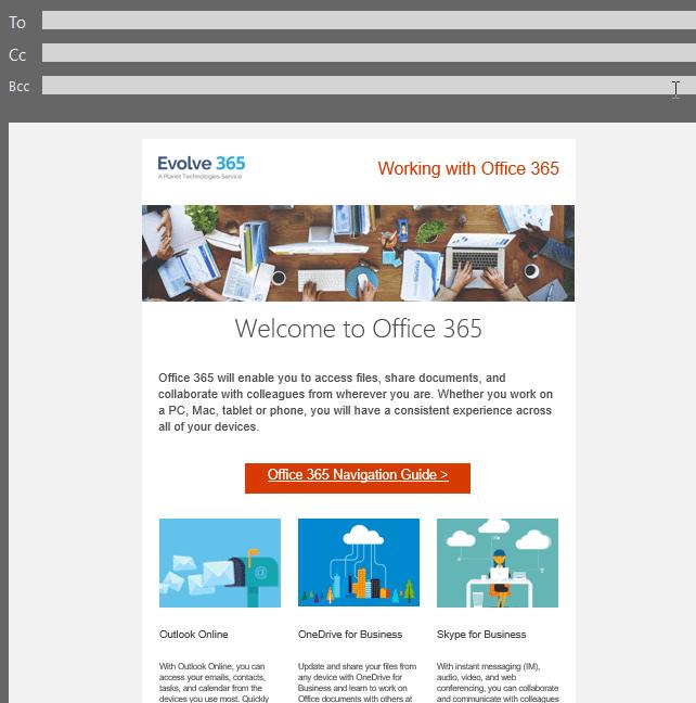 Office 365 Trusted Advisor - Evolve 365